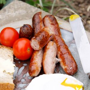 Sausage Shed's Chipolata breakfast