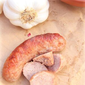Garlic and Pork Sausages