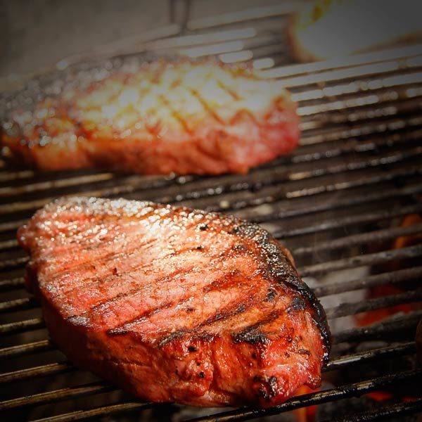 BBQ Pack Pork Chops on Grill