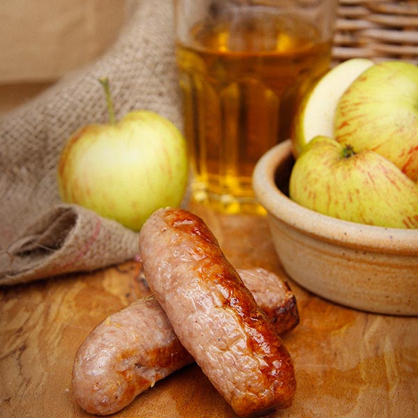 The Somerset Sausage with Scrumpy Cider by Sausage Shed