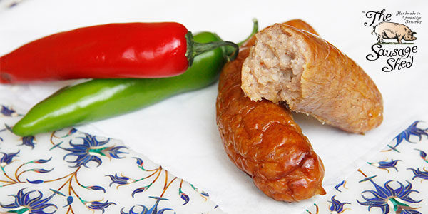 Curried Pork and Pineapple Sausages