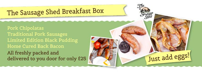 The Sausage Shed Breakfast Box