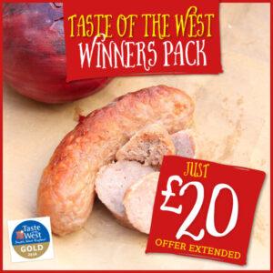 Taste of the West Winners Pack Offer