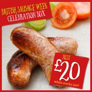 British Sausage Week Celebration Box