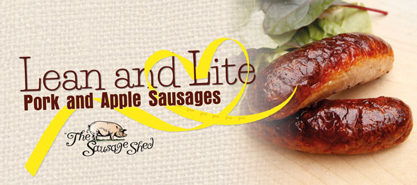 Lean and Lite Sausages Banner