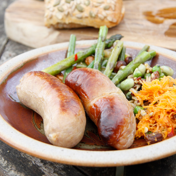 Honey and Mustard Sausages 2