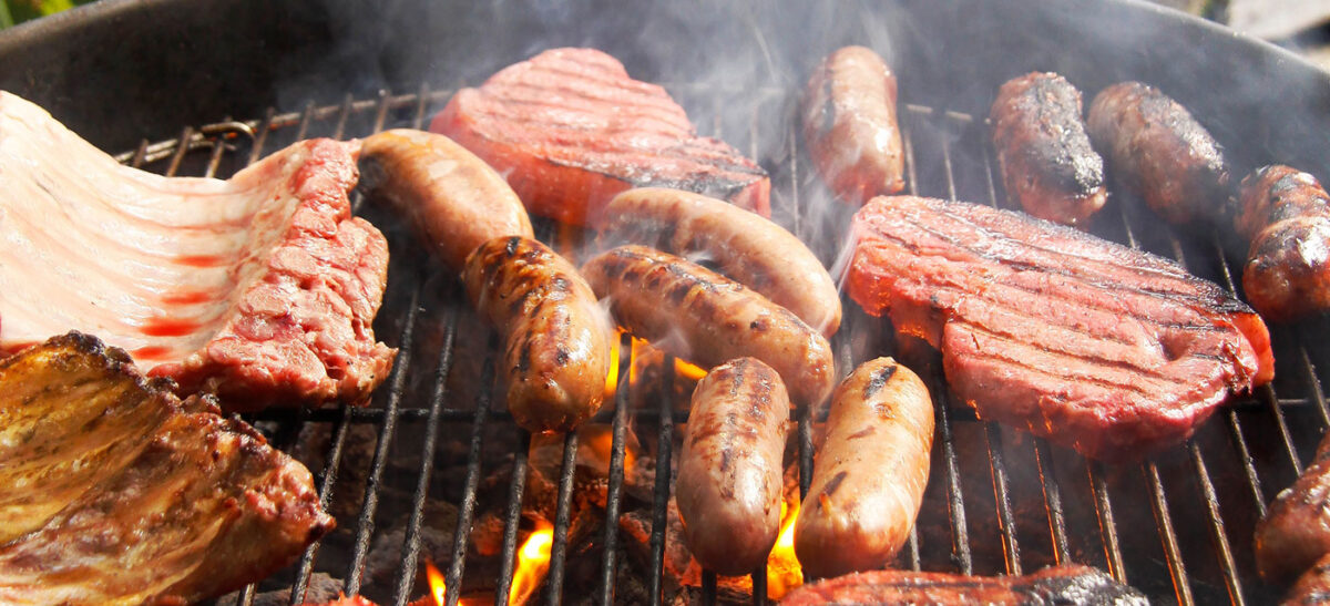 Sausage shed BBQ box